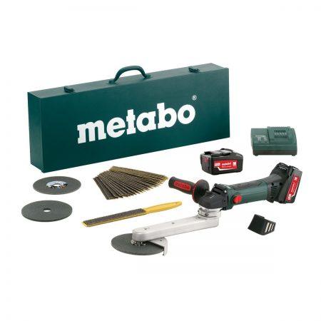 Metabo KNS 18 LTX 150 Set Cordless Fillet Weld Grinder