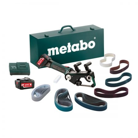 Metabo RB 18 LTX 60 Set Cordless Pipe Belt Sander