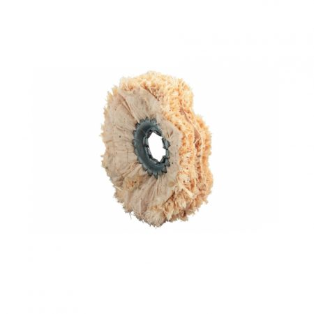 Metabo 5 SISAL POLISHING RINGS, IMPREGNATED, 100 X 15 MM