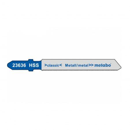 Metabo 5 JIGSAW BLADES, METAL, CLASSIC, 66/ 0.7 MM