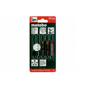 Metabo JIGSAW BLADE ASSORTMENT 2, WOOD+METAL+PLASTIC, 5-PIECE