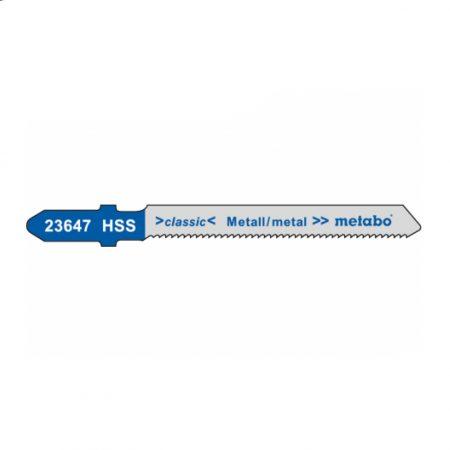 Metabo 5 JIGSAW BLADES, METAL, CLASSIC, 51/ 1.2 MM