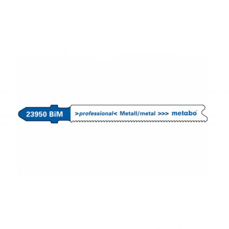 Metabo 5 JIGSAW BLADES, METAL, PROFESS.66 MM/PROGR.