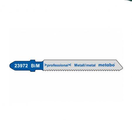 Metabo 5 JIGSAW BLADES, METAL, PROFESS. 50/1.5 MM