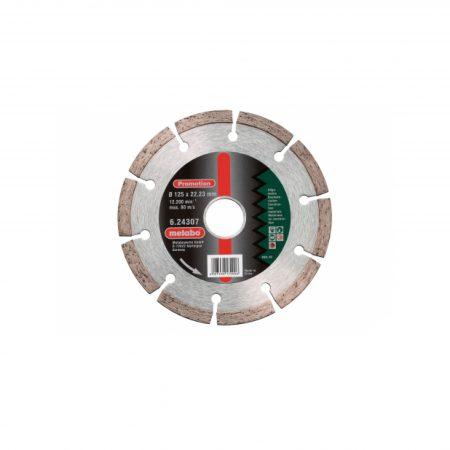 "Metabo DIAMOND CUTTING DISC ""SP"" 115X22.23 MM, UNIVERSAL"
