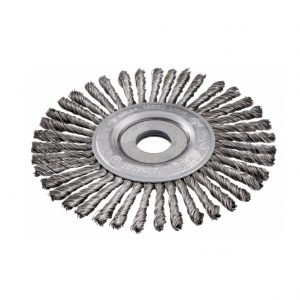 Metabo WHEEL BRUSH 125X0.5X6 /22.23 MM, STEEL-WIRE, TWISTED