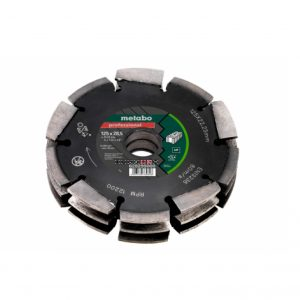 "Metabo DIA-CD3, 125X28.5X22.23MM, ""PROFESSIONAL"", ""UP"", UNIVERSAL"