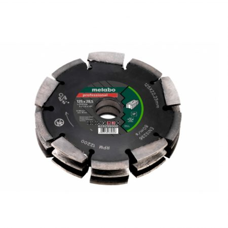"""Metabo DIA-CD3, 125X28.5X22.23MM, """"PROFESSIONAL"""", """"UP"""", UNIVERSAL"""